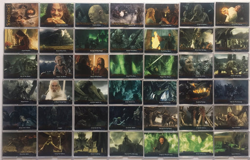 Lord of the Rings Return of King Update Base Card Set 72 Cards   - TvMovieCards.com