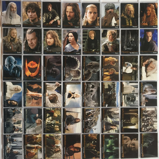 Lord of the Rings Return of King Base Card Set 90 Cards   - TvMovieCards.com