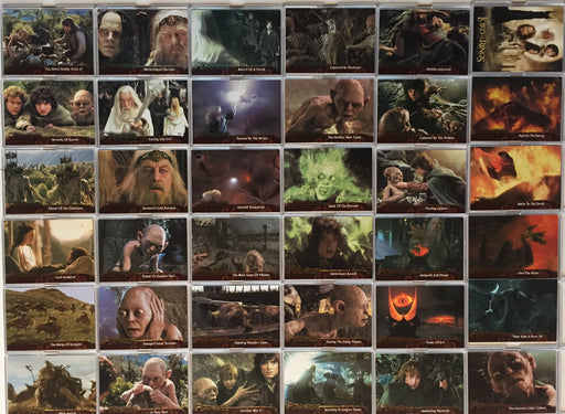 Lord of the Rings Two Towers Update Base Card Set 72 Cards   - TvMovieCards.com