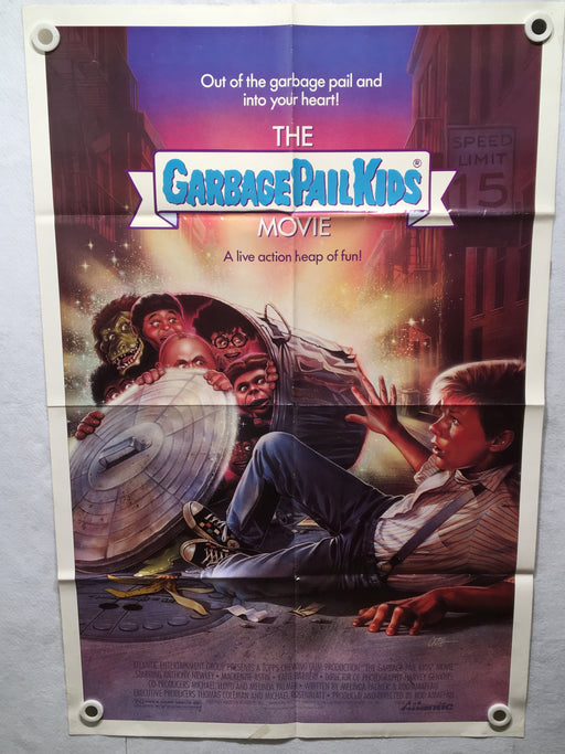 1987 Garbage Pail Kids Original 1SH Movie Poster 27 x 41   - TvMovieCards.com