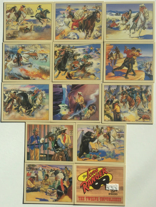 Lone Ranger Case Chase Card Set 13 Cards   - TvMovieCards.com