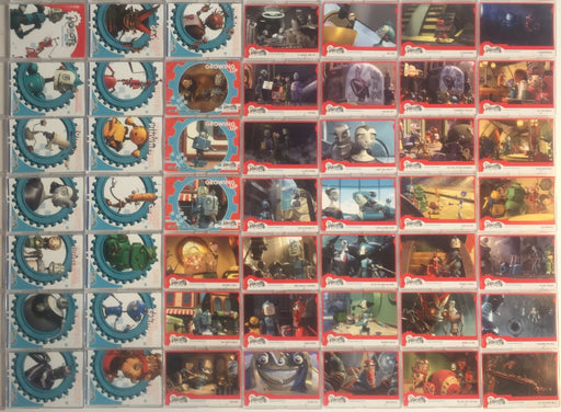 Robots Movie Base Card Set   - TvMovieCards.com
