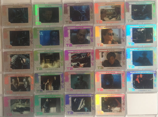 Terminator 2 CyberEtch Chase Card Set 24 cards CE01 - CE24 Filmcardz T2   - TvMovieCards.com