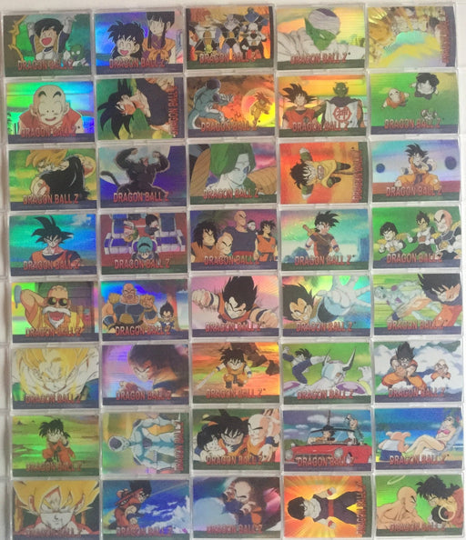 Dragon Ball Z Holochrome Chromium Archive Sticker Card Set 80 Stickers Artbox 2000   - TvMovieCards.com