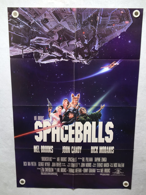 1987 Spaceballs Original 1SH Movie Poster 27 x 41 John Candy Mel Brooks   - TvMovieCards.com