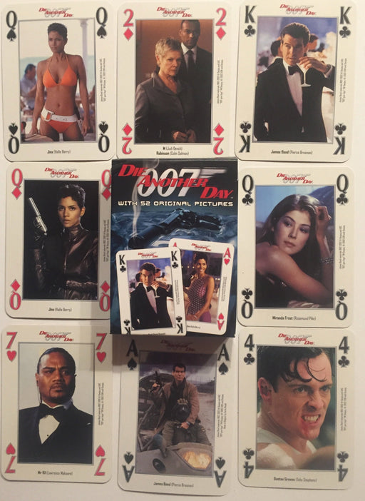 James Bond 007 Die Another Day Sealed Playing Card Deck 55 Cards   - TvMovieCards.com