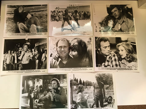 1978 Every Which Way But Loose Movie Photo Lobby Card Set of 10 Clint Eastwood   - TvMovieCards.com