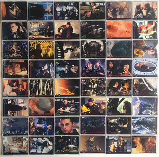 Lost In Space Movie Base Card Set 90 Cards Inkworks 1998   - TvMovieCards.com