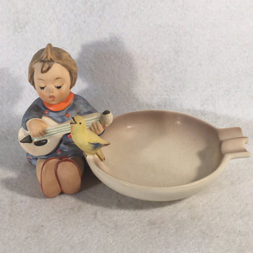 "Goebel Hummel Figurine # 33 ""Joyful"" Ashtray TMK5 3.75""   - TvMovieCards.com"