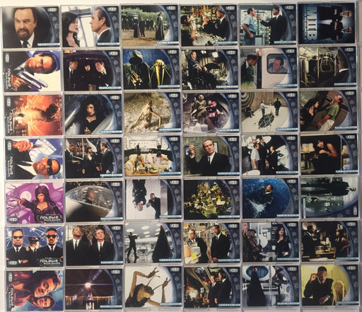 Men In Black II Movie Base Card Set 81 Cards Inkworks 2002   - TvMovieCards.com
