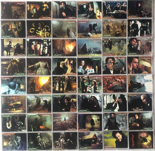 Sleepy Hollow Movie Base Card Set 90 Cards Inkworks 1999   - TvMovieCards.com