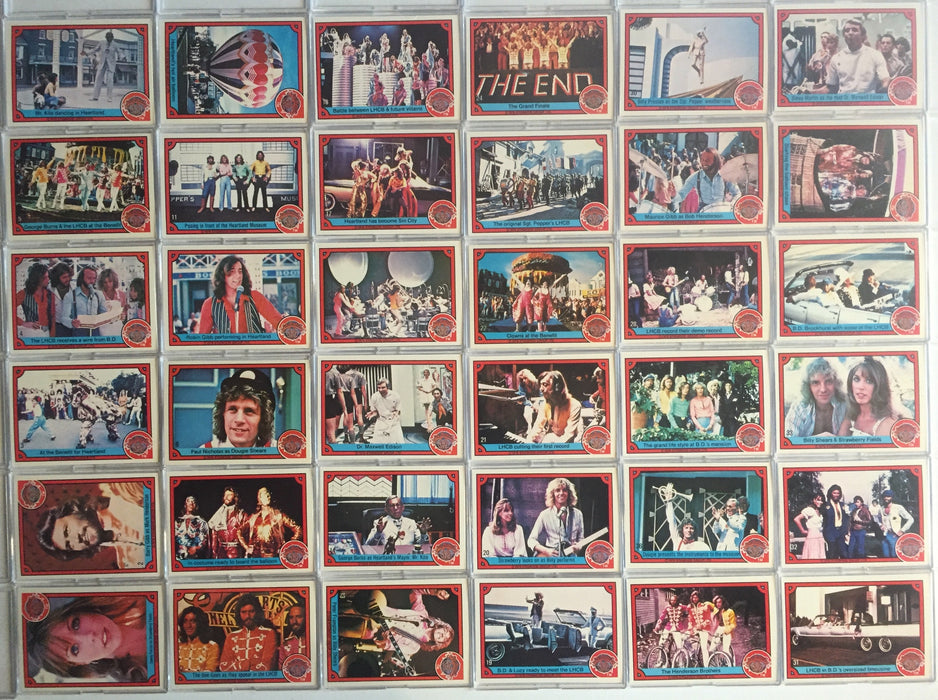 Sgt. Peppers Lonely Hearts Club Band Vintage Card Set 66 Cards Donruss 1978   - TvMovieCards.com