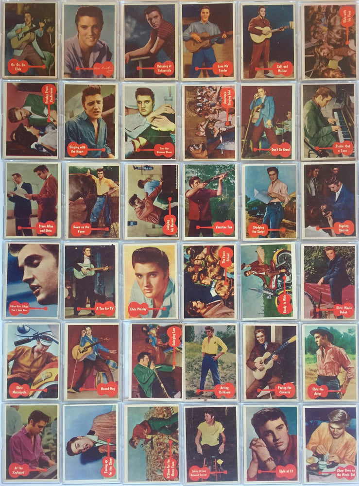 Elvis Vintage Card Set 66 Cards 1956 Topps Bubbles Inc.   - TvMovieCards.com