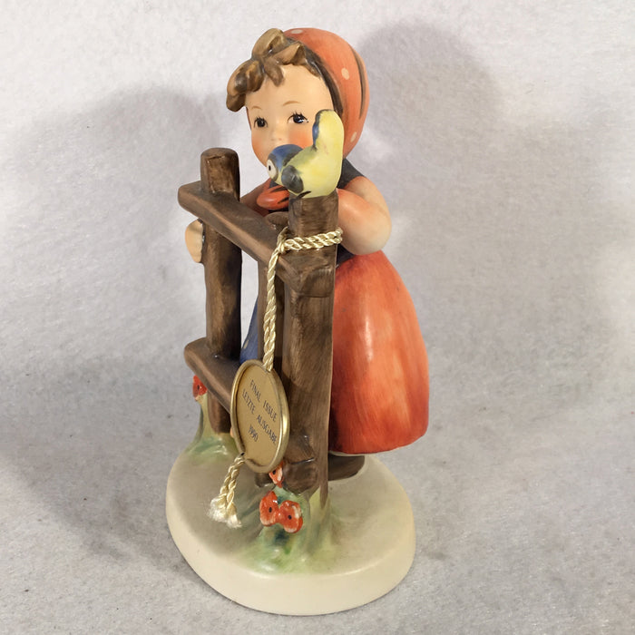 "Goebel Hummel Figurine TMK6 #203/I ""Signs of Spring"" 5""   - TvMovieCards.com"