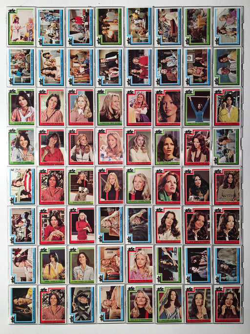Charlie's Angels Series 4 Vintage Card Set 66 Cards #188 thru #253 Topps 1977   - TvMovieCards.com