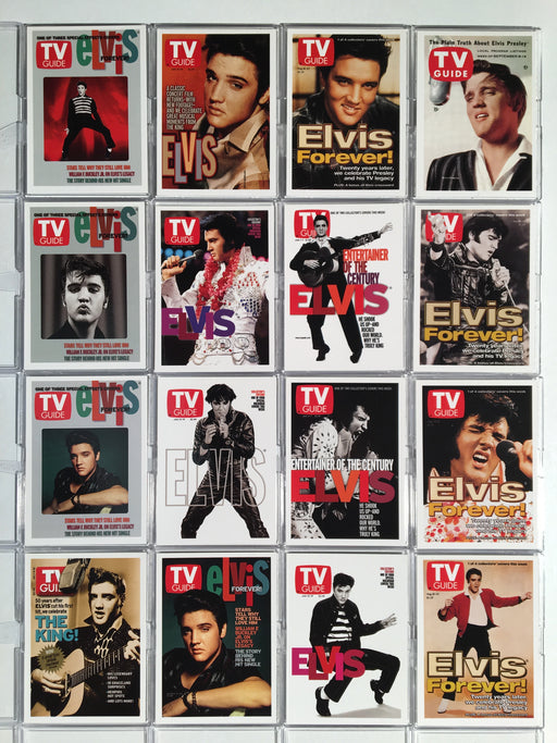 Elvis TV Guide Covers Card Set TV1 thru TV16   - TvMovieCards.com