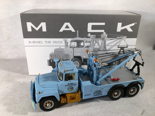First Gear 1/34 City of Chicago Mack R Model Tow Truck 19-2786   - TvMovieCards.com