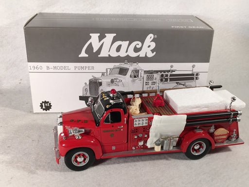 First Gear 1/34 1960 Mack B-Model Chicago Fire Dept 19-2256   - TvMovieCards.com