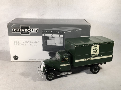 First Gear 1/30 1937 Chevrolet US Mail Freight Truck 19-2449   - TvMovieCards.com