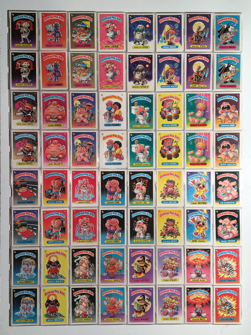 Garbage Pail Kids GPK Series 1 Sticker Card Set 82 Cards   - TvMovieCards.com