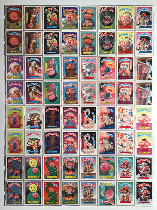 Garbage Pail Kids GPK Series 7 Sticker Card Set 84 Cards   - TvMovieCards.com