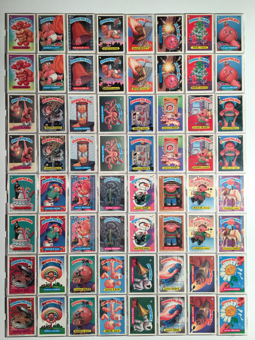 Garbage Pail Kids GPK Series 8 Sticker Card Set 84 Cards   - TvMovieCards.com