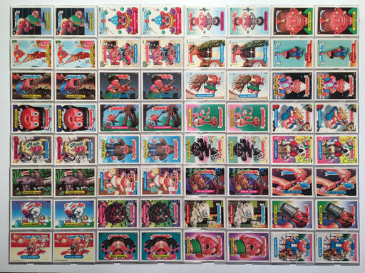 Garbage Pail Kids GPK Series 14 Sticker Card Set 80 Cards   - TvMovieCards.com