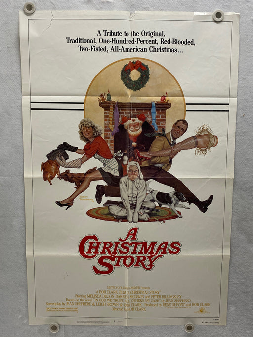 1983 A Christmas Story Original 1SH Movie Poster 27 x 41 Peter Billingsley   - TvMovieCards.com
