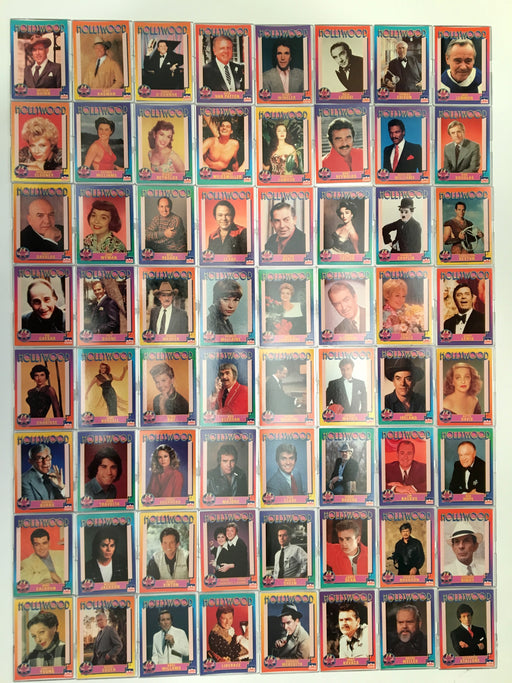 Hollywood Walk of Fame Base Card Set 250 Movie Stars Cards Starline 1991   - TvMovieCards.com