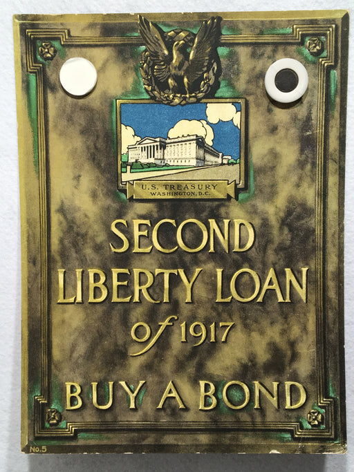 """Buy a Bond"" 2nd Second Liberty Loan Advertisement WWI Poster 11 X 14   - TvMovieCards.com"