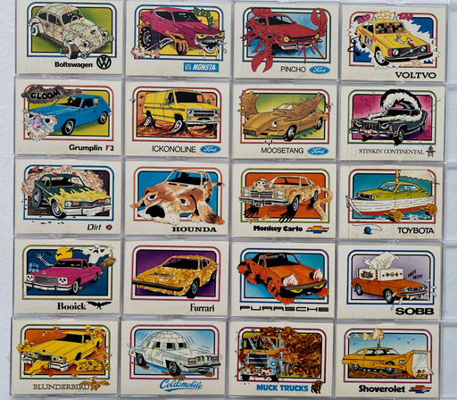 Crazy Cars 1976 Wonder Bread Vintage Card Set 20 Cards   - TvMovieCards.com
