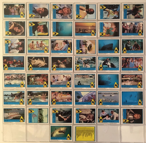 Jaws Movie 3-D Vintage Card Set 44 Cards 1983 Topps   - TvMovieCards.com