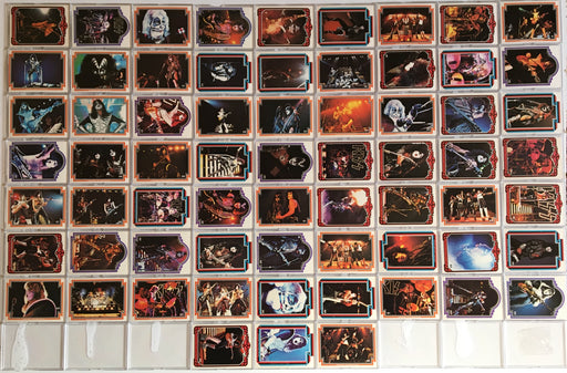 Kiss Series 1 Vintage Card Set 66 Cards Donruss 1978   - TvMovieCards.com