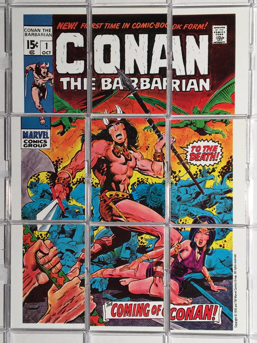 Marvel Super Heroes Conan the Barbarian Checklist/Puzzle Card Set Topps 1976   - TvMovieCards.com
