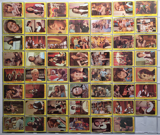 1971 Topps The Partridge Family Yellow Complete (55) Vintage Trading Card Set   - TvMovieCards.com