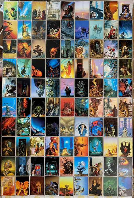 Adventures In Fantasy Michael Whelan Base Card Set 90 Cards Comic Images 1993   - TvMovieCards.com