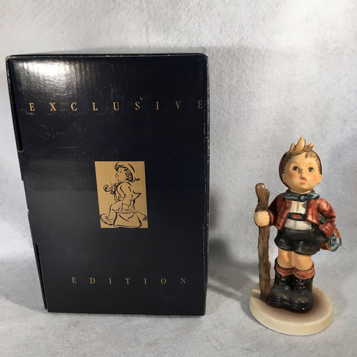 "Goebel Hummel Figurine #760 ""Country Suitor"" TMK7 5 1/2""   - TvMovieCards.com"
