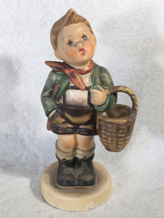 "Goebel Hummel Figurine #51 2/0 ""Village Boy"" TMK4 5 1/8"""