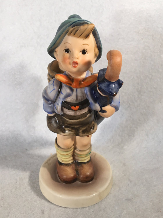 "Goebel Hummel Figurine #198/1 ""Home From Market"" TMK5 5 1/2"""