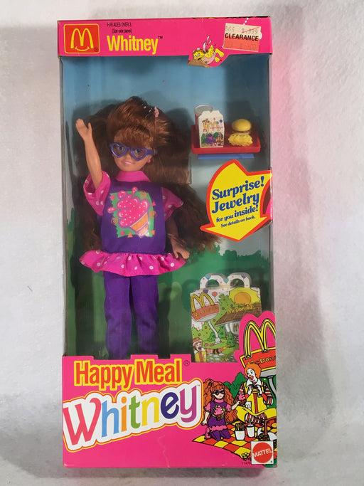 Mattel Barbie Doll - Mcdonald's Happy Meal Whitney - 1993 - #11476 NIB   - TvMovieCards.com