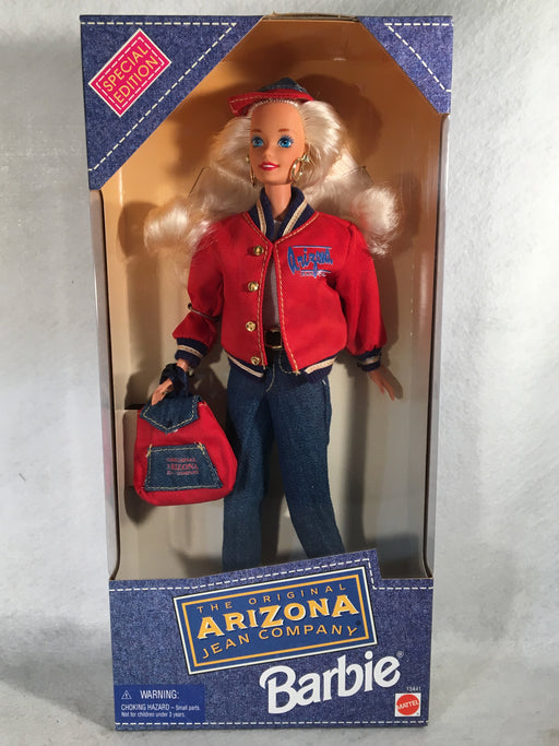 Mattel Barbie Doll - Arizona Jean Company Barbie - 1995 - #15441 NIB   - TvMovieCards.com