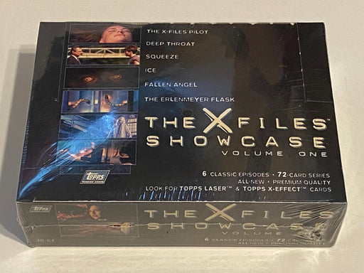 1997 X-Files Showcase Topps Widevision Trading Card 36ct Sealed Box   - TvMovieCards.com