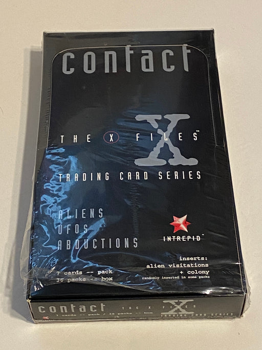 1996 X-Files Contact Intrepid Trading Card 36ct Sealed Box Australia   - TvMovieCards.com