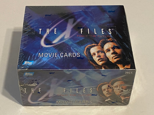 1998 X-Files Fight The Future The Movie Trading Card 36ct Sealed Box Topps   - TvMovieCards.com
