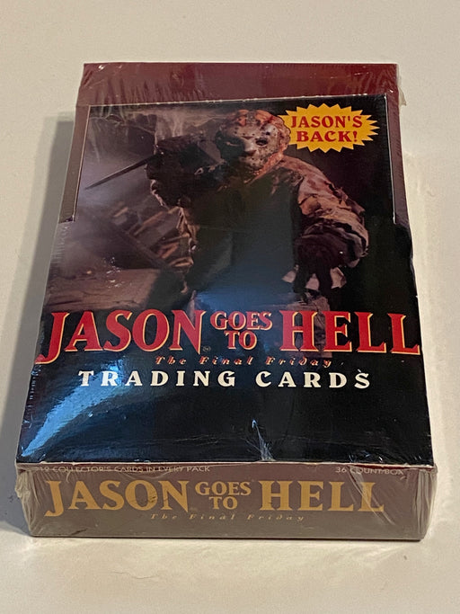 1993 Jason Goes to Hell The Final Friday Trading Card 36ct Sealed Box Eclipse   - TvMovieCards.com