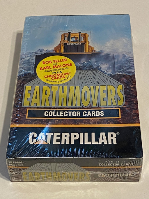 1994 Caterpillar Earthmovers Series 2 Factory Sealed Trading Card Box NEW TCM   - TvMovieCards.com