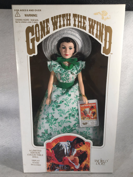 World Doll - Gone With The Wind Doll - Scarlett O'Hara - #71152 NIB