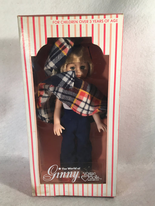 1978 Vogue Doll - 8 inch doll Blond Ginny in Poncho - #301933   - TvMovieCards.com
