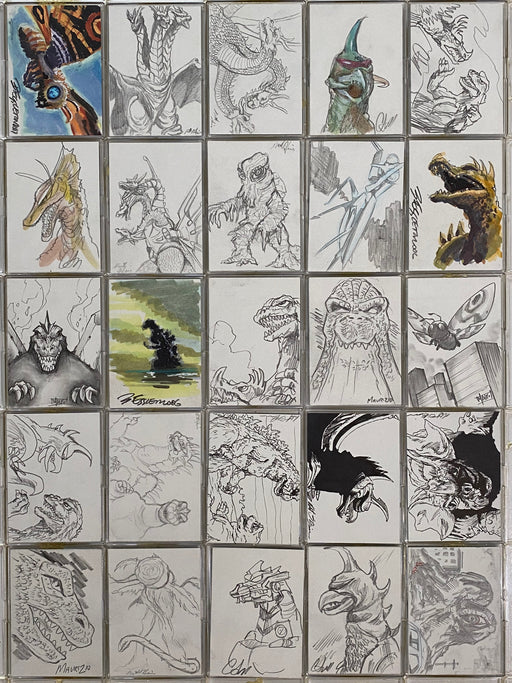 GODZILLA: KING OF THE MONSTERS Artist Sketch Card You Pick Singles   - TvMovieCards.com