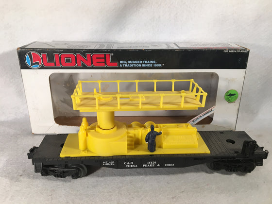 Lionel O Scale 6-16620 Chesapeake & Ohio Track Maintenance Car